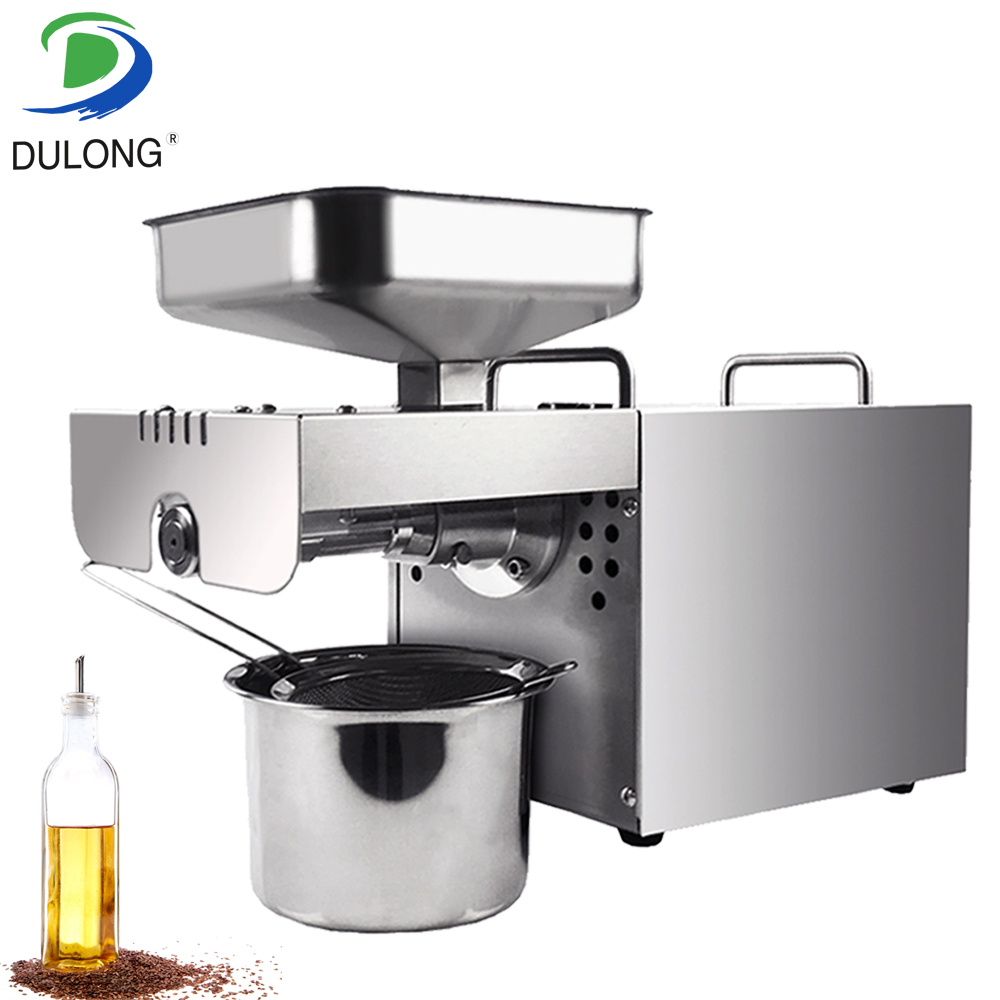 Heat and Cold home oil press machine peanut, cocoa soy bean oil press machine high oil extraction rate 220v hot and cold home oil press machine peanut soy bean cocoa oil press machine high oil extraction rate zyj 02
