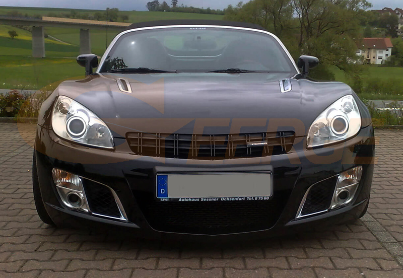 For Opel GT Roadster 2007 2008 2009 2010 Excellent angel eyes Ultra ...