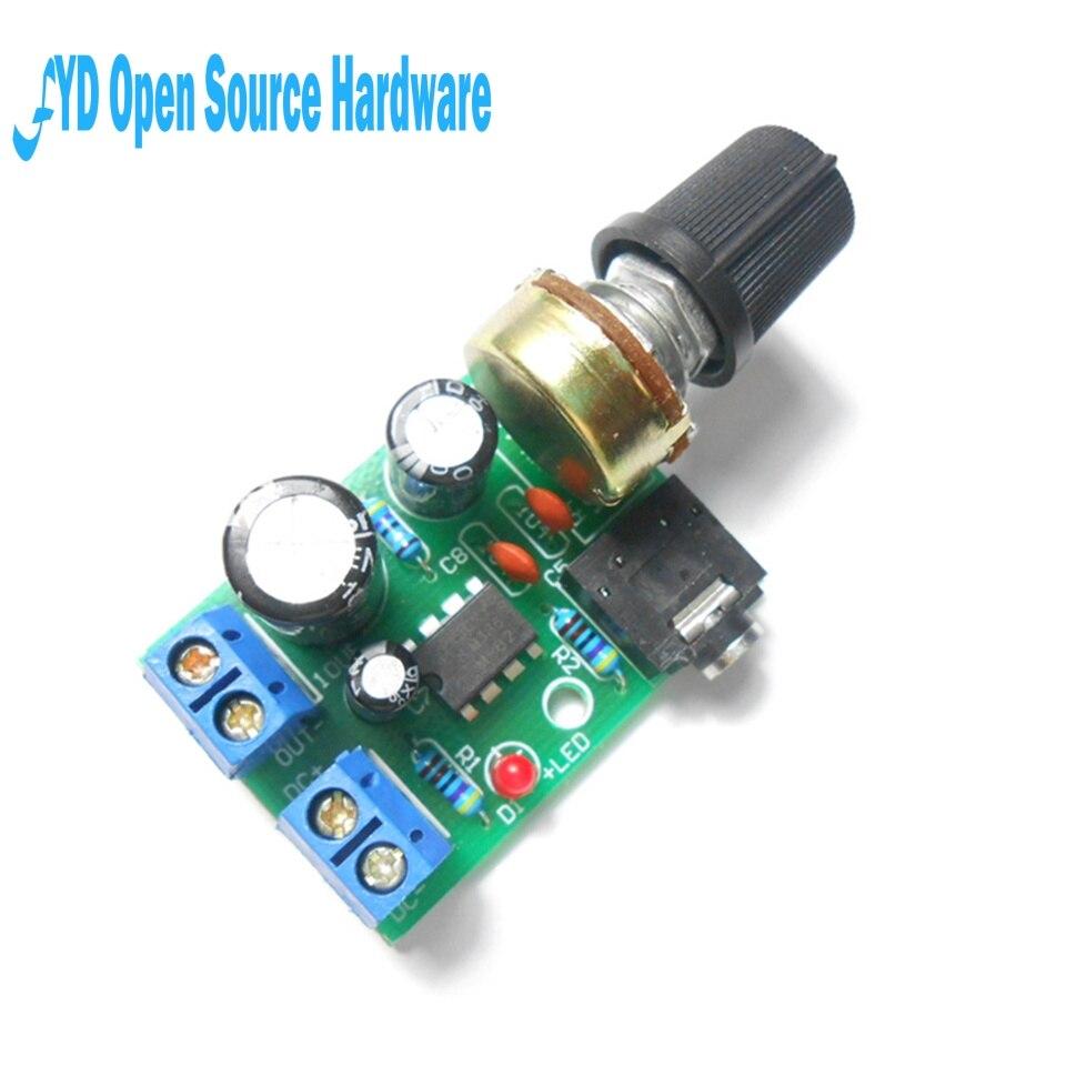 Power Amplifier Mini Circuit Using Tda2009 2x10w Part Amplifier Mini