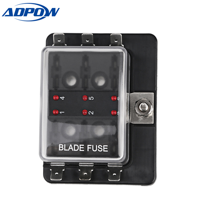 power fuse box fuses sci r3 76 1 power in 6 way blade fuse box ledfuse holder kit power fuse box home r3 76 1 power in 6 way blade fuse box