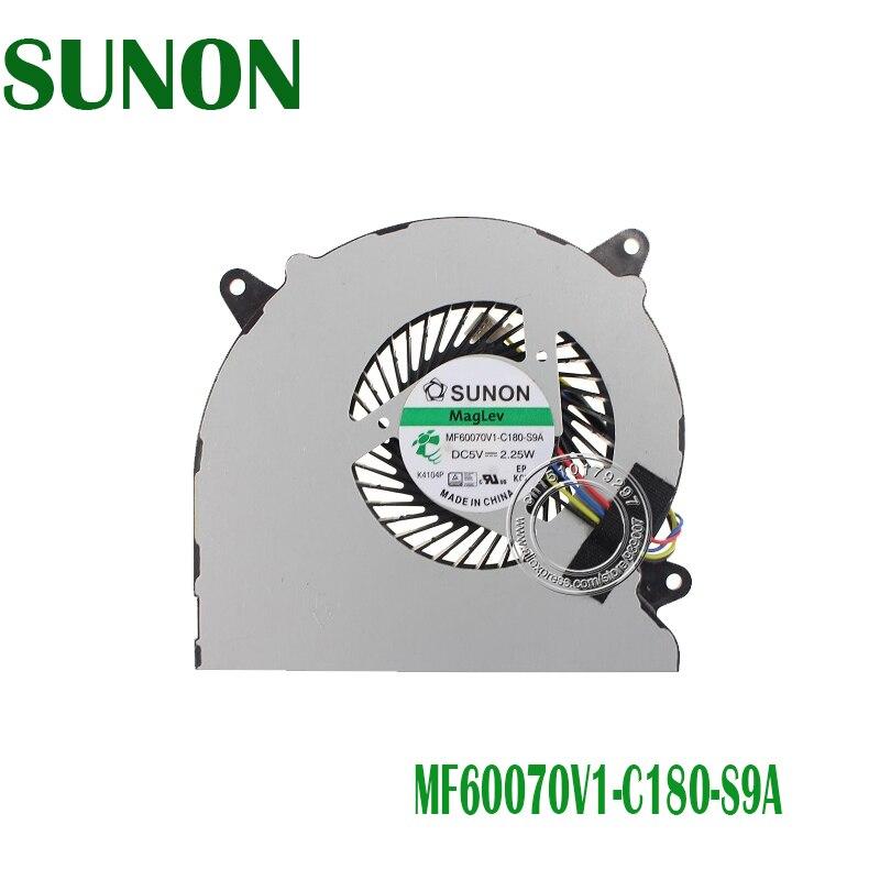 New cpu Laptop cooling fan Para ASUS N550J N550 N550JV N550JK N550JA N550JV-DB71 N550JV-DB72T N550L N550LF MF60070V1-C180-S9A