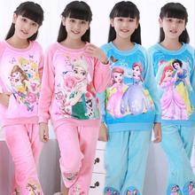 Новые пижамы для мальчиков и девочек; теплые плотные фланелевые пижамы на осень и зиму; Mujer; детские пижамы из кораллового флиса с героями мультфильмов; детские пижамы
