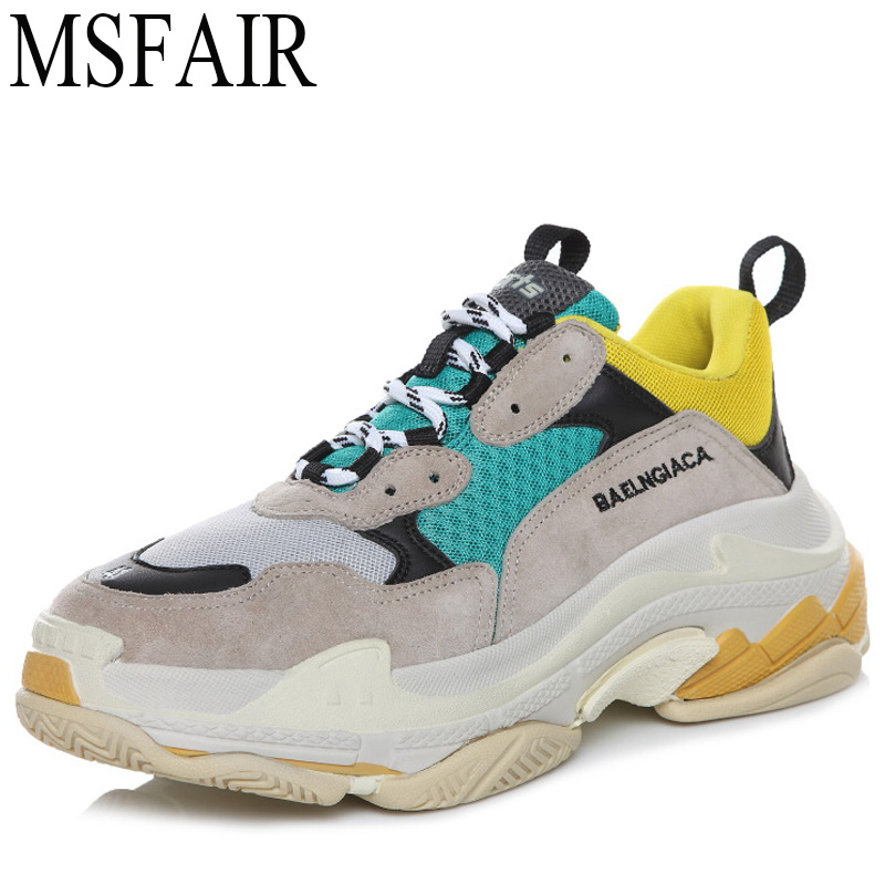 MSFAIR 35-45 Sports Run Men Running Shoes Outdoor Athletic Sport Shoes For Men Man Brand Summer Breathable Mesh Womens Sneakers msstor women running shoes summer breathable mesh sport shoes for woman brand outdoor athletic sports run womens sneakers 35 40