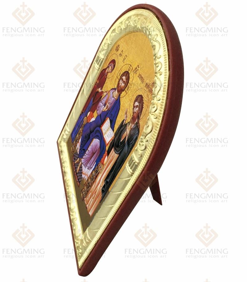 İsti Satış Katolik Dini Heykəllər Məsih Allahın Anası və - Ev dekoru - Fotoqrafiya 3