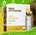 15 ml O pescoço elevador de manutenção 24 k Clareamento e hidratação endurecimento rugas concentrado de ouro