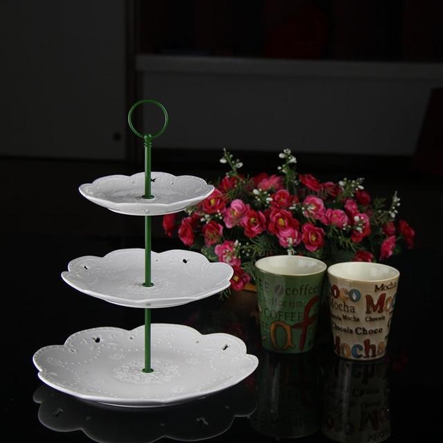 Moq 100 Satze 3 Tiers Set Runde Kopf Design Metall
