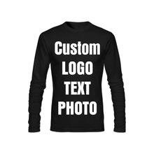 Индивидуальная Мужская футболка печать собственного дизайна
