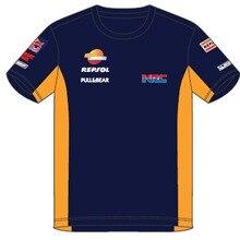 HRC Para Honda REPSOL MOTO GP VR46 Camisetas 93 Motocicleta MAV camisetas Camisa Da Bicicleta Da Sujeira MX ATV off road Corrida T-shirt Racewear