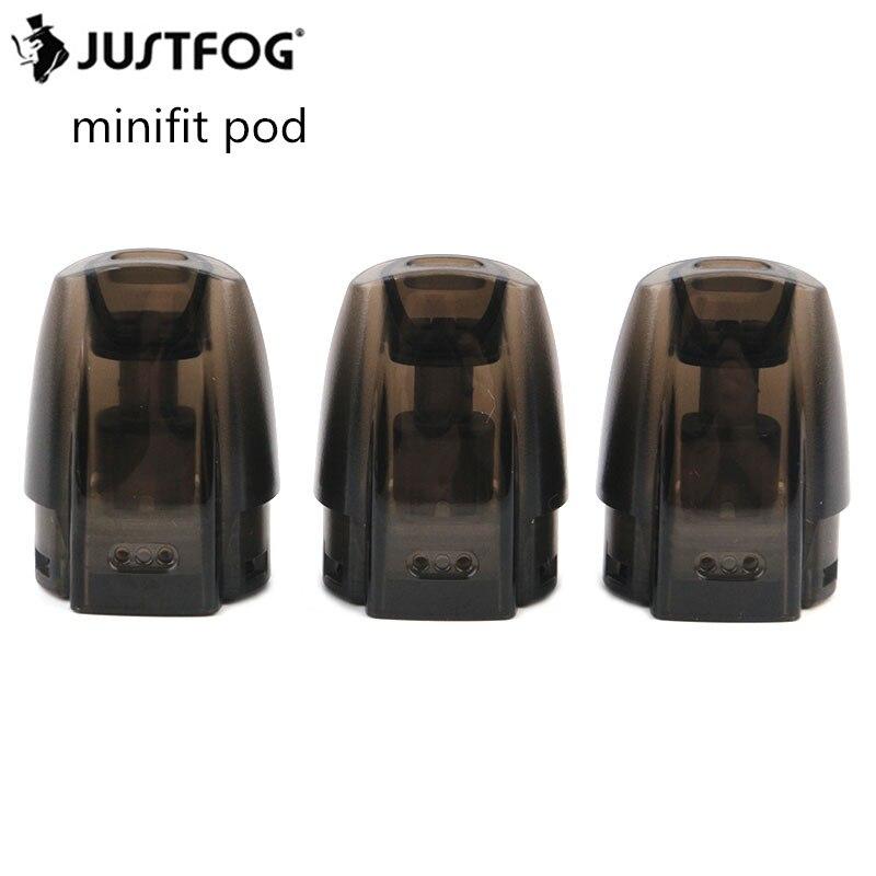 24pcs lot Original JUSTFOG Minifit Pod Replaceable Tank 1 5ml 1 6ohm Coils Built in Electronic