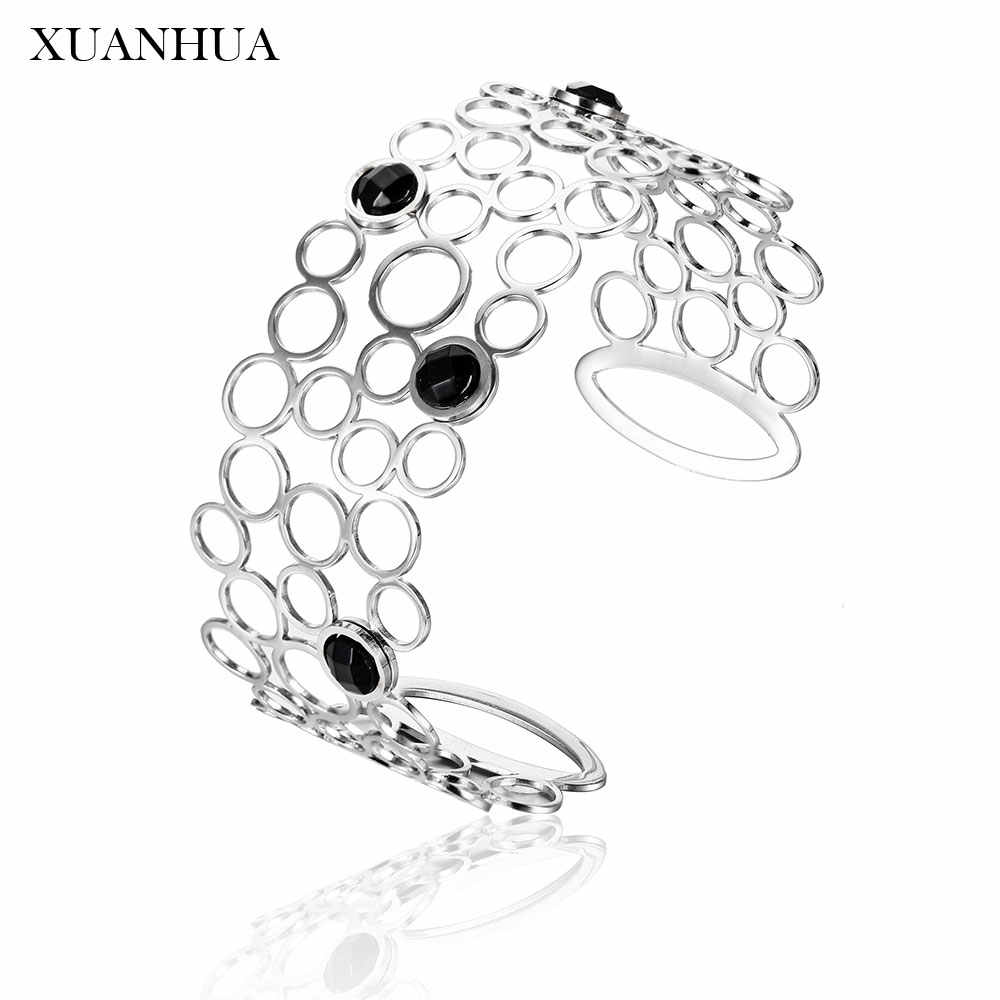 XUANHUA Stainless Steel Jewelry Woman Vogue 2019 Charm Personalized Bracelets Bangles Summer Jewelry Accessories Mass Effect