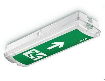 8w mount ceiling led exit sign led emergency exit lights 10pcs lot