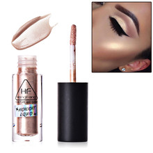 Фотография Makeup Face Highlighter Skin Luminous Glow Liquid Concealer Foundation Pearl Shimmer Make Up Contour