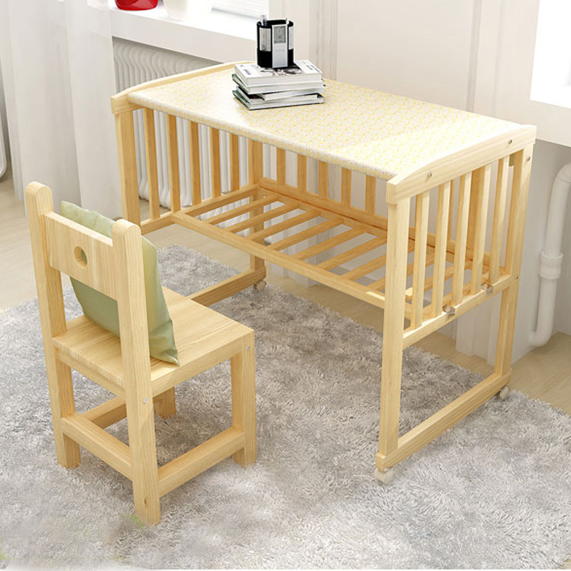 Strange Us 64 34 Baby Crib Saplings Glider Lockable Cradle Baby Child Nursery Furniture Solid Wood Sleeping Independent Portable Baby Cradle Cot In Baby Andrewgaddart Wooden Chair Designs For Living Room Andrewgaddartcom