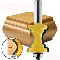 New 1 2 Shank Bullnose Bead Column Face Molding Router Bit For Woodworking Tools