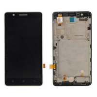 100 Original For Lenovo A536 LCD Display With Touch Screen Digitizer Assembly With Frame Black White