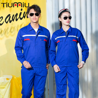 Workshop Uniform Work Safety Clothing Summer Reflective Safety Set Repairman Auto Repair Coveralls Roupa De Trabalho Oficina