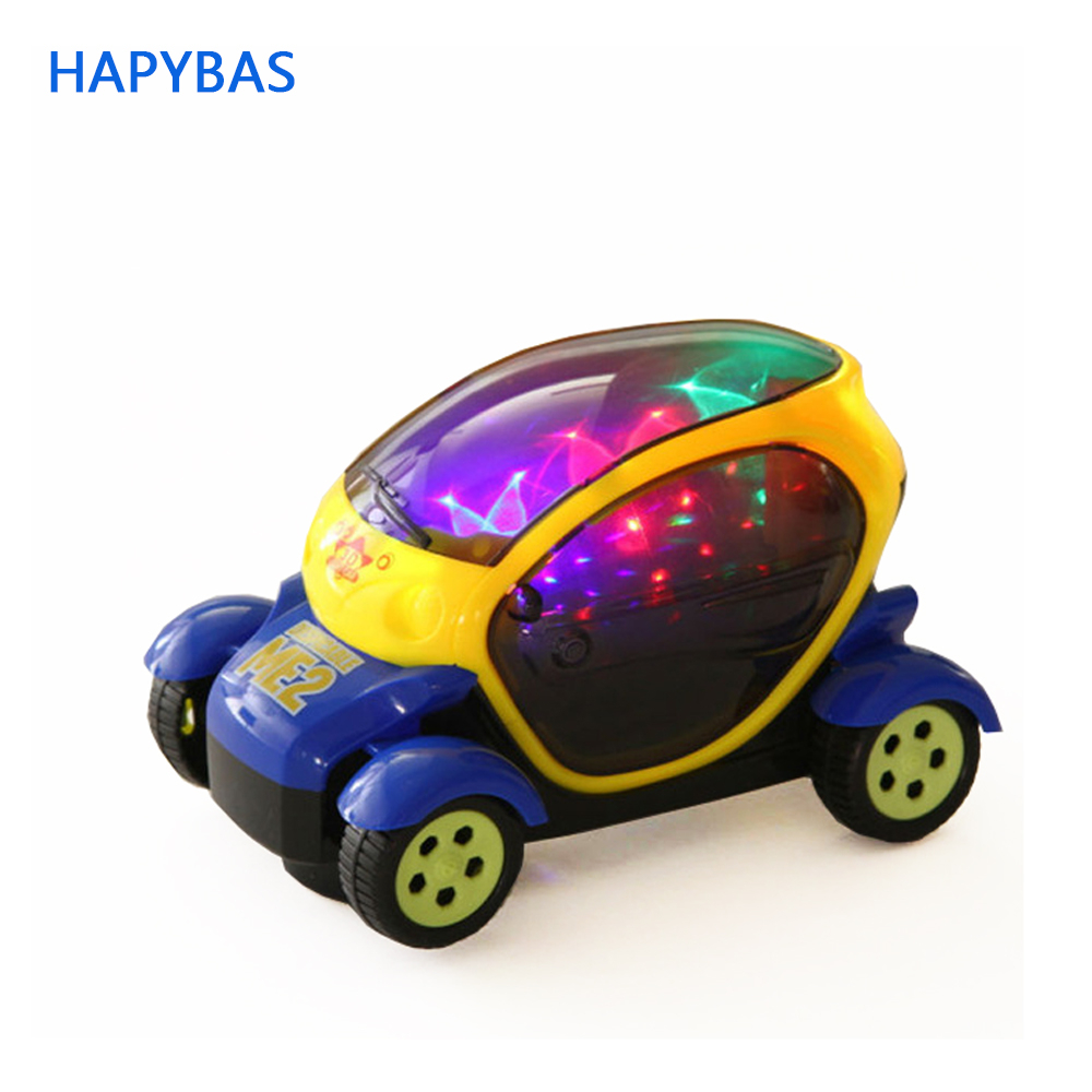 Science Fiction Further Car Model Electric Toy Car Model Universal Wheel 3D Lighting Electric Toy Car Model Children's Toys Gift