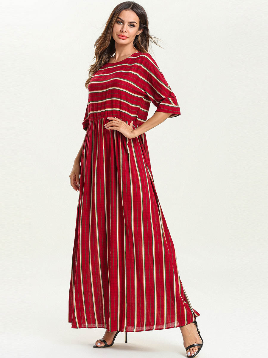 Acquista Abaya Le Donne Abbigliamento Islamico Bangladesh Plus Size ... 6e05f00cd95