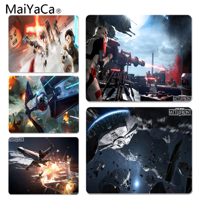 MaiYaCa High Quality Star Wars Comfort Mouse Mat Gaming Mousepad Size for 18x22cm 25x29cm Small Mousepad ...