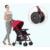 Multifunción Ligero cochecito de bebé plegable bebé acostado y sentarse niños cochecito de bebé de verano invierno dos uso VOTC-4