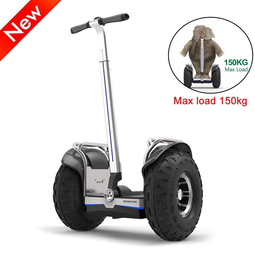 (Poland stock) ESWING ES6+ City Electric Two-wheel Scooter Off Road Type 19 Inch Tire Buit-in GPS With Bluetooth APP Control adu ρολογια τοιχου κλασικα ξυλου