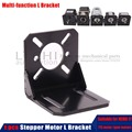 Nema 17 mount L bracket 42 stepper motor / 150w 288w 775 Spindle Motor / Gearbox Nema 17 Stepper Motor Multifunctional bracket