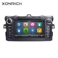 Авторадио 2 Din DVD плеер автомобиля для Toyota AURIS Toyota Corolla Altis 2012 2013 магнитофон Мультимедиа gps Стерео навигация