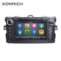 Autoradio 2 Din Car DVD Player For Toyota AURIS Toyota Corolla Altis 2012 2013 Tape Recorder Multimedia GPS Stereo Navigation