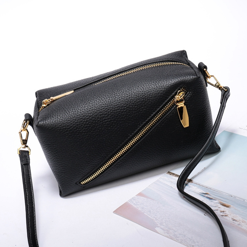 Crossbody Bags For Women Genuine Leather 2018 Hot Handbag Casual Messenger Bag For Girls High Quality Cowhide Flap Shoulder Bags qzh 2017 summer kids girls messenger bags cartoon mini cute school bag children handbag girl shoulder bag women crossbody bags
