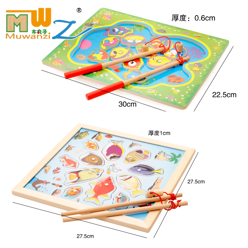 2017-Magnetic-Fishing-Children-Fishing-Puzzle-Baby-Toys-Wooden-Educational-Early-Childhood-Learning-Magnetic-Fish-Toy-Age-2-8y-4
