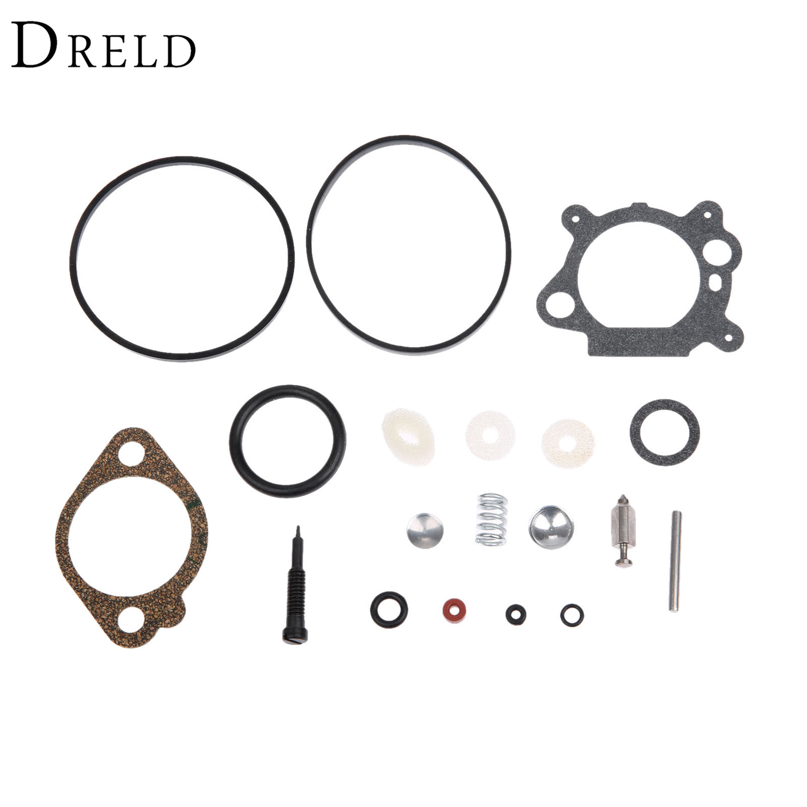 DRELD Carburetor Carb Repair Rebuild Kit for Briggs & Stratton 498260 493762 492495 for 3.5 and 4 HP Max Series Lawn Mower Parts 2016 new carburetor carb rebuild repair kit k10 wyb for srm 260 srm 261 trimmer replacement k20 wyj type