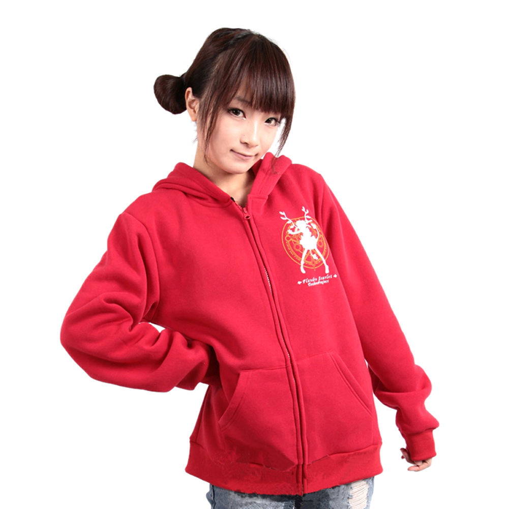 Touhou Project Remilia Scarlet Flandre Scarlet  cosplay Hoodie Coat Jackets