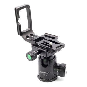 Image 5 - Xiletu LB D810L LประเภทProfessionalแผ่นยึดขาตั้งกล้องQuick PlateฐานHandle GripสำหรับD800 D800E D810กล้อง
