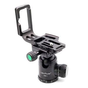 Image 5 - Xiletu LB D810L L Type professionnel plaque de support trépied plaque de dégagement rapide tête Base poignée poignée pour appareil photo D800 D800E D810