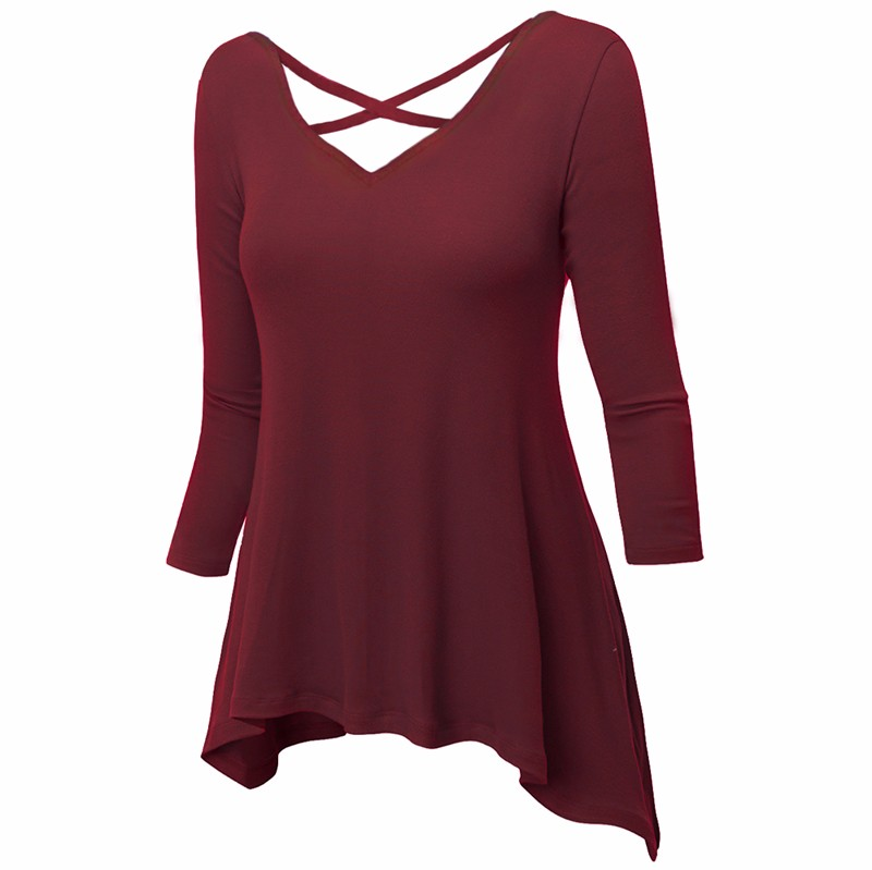 Red T-shirt Women 1