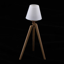 1:12 Mini Floor Lamp Furniture Doll House Style Light For Dolls Kids Toy(China)