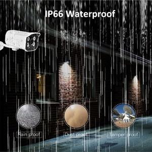 Image 3 - Câmera de segurança ahd full hd 1080p 720p, para uso externo, à prova d água, 4 peças, array, infravermelho, visão noturna, metal, vigilância por bala câmera cctv para vigilância