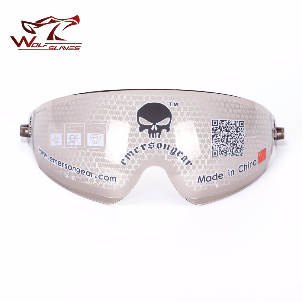 30b41effb Wolfslaves emersongear Sunglasses Fast Helmet Goggle Eyes Protective Gear  Airsoft Hunting Skiing Dust Proof Eyewear Colorful-in Helmets from Sports  ...