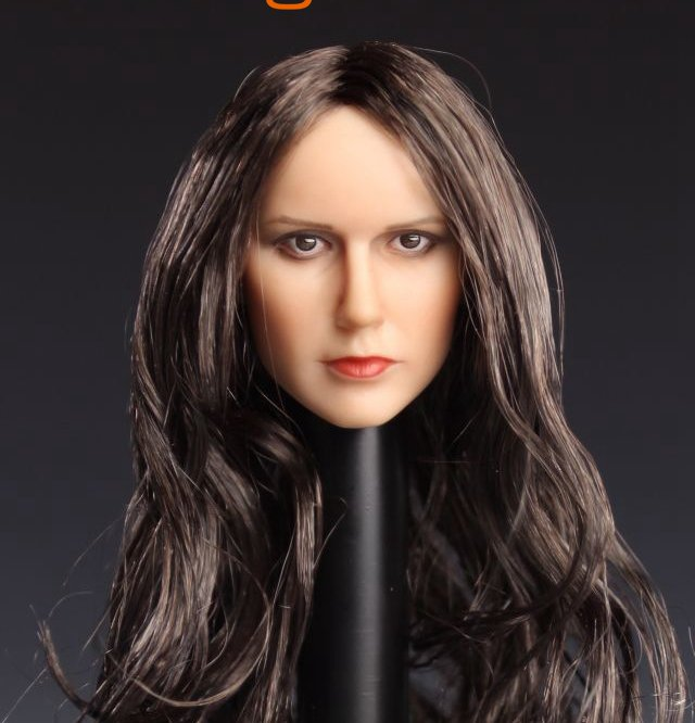 1:6 Female Figure accessories The Vampire Diaries Nina Dobrev Katherine Pierce head shape carved for 12 Action figure doll the vampire diaries vol 1