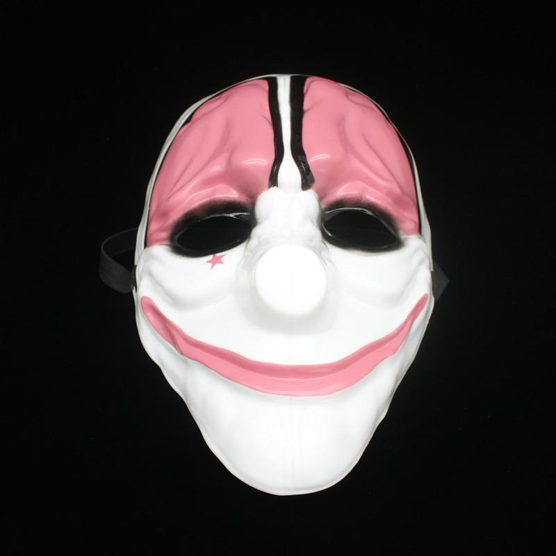 Payday 2 Masker Dallas masker / Wolf / Kettingen / Hoxton cosplay - Feestversiering en feestartikelen - Foto 3