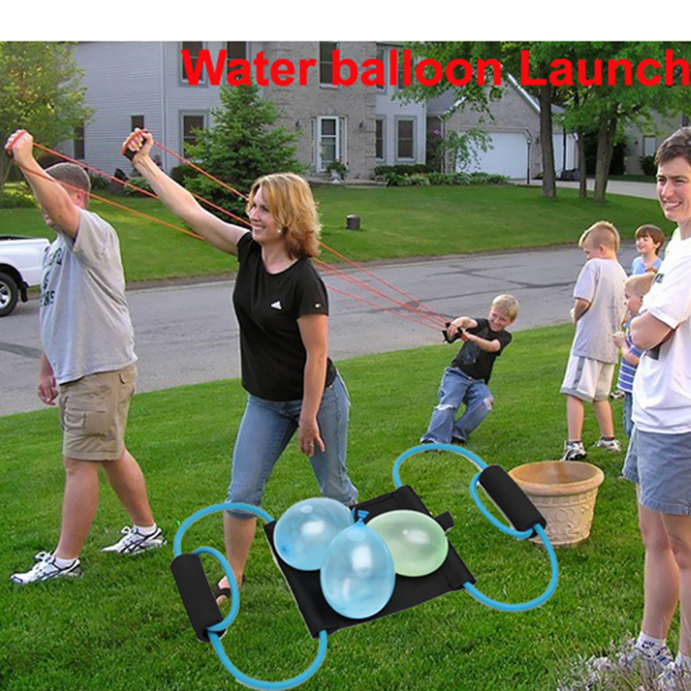 Water Balloon Launcher Snowball Fight Tool Outdoor Toys