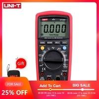 UNI T UT139C Digital Multimeter Auto Range True RMS Meter Capacitor Tester Handheld 6000 Count Voltmeter Temperature