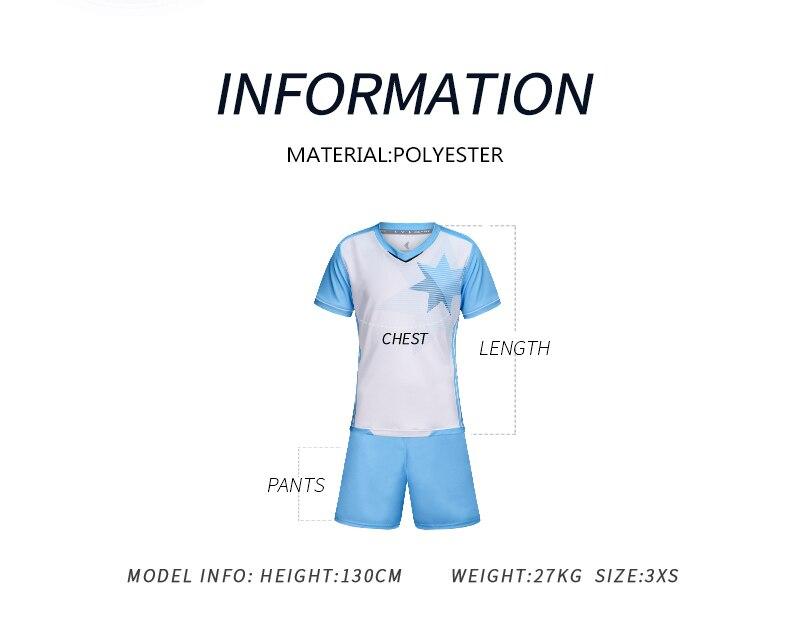 Camiseta de fútbol 2018 Survetement Enfant camiseta de fútbol niños equipo  de entrenamiento uniforme transpirable ropa deportiva Jersey de fútbol ... 4b990433788f7