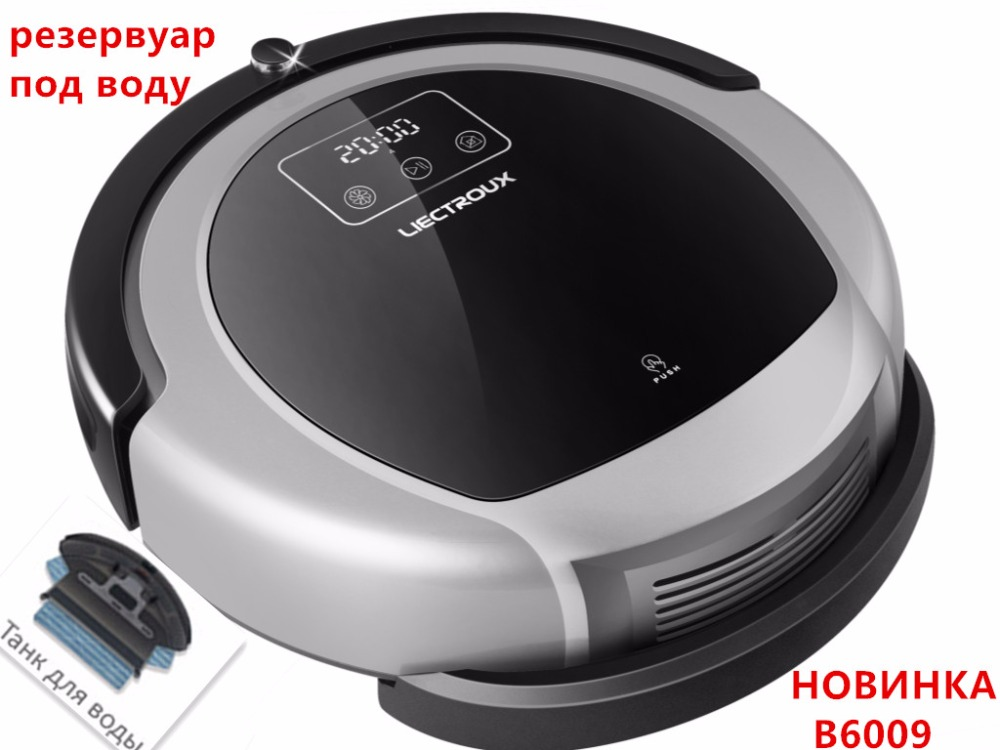 где купить (For B6009) Water tank for LIECTROUX Robot Vacuum Cleaner B6009, 1pc/pack (Mop cloth not included) по лучшей цене