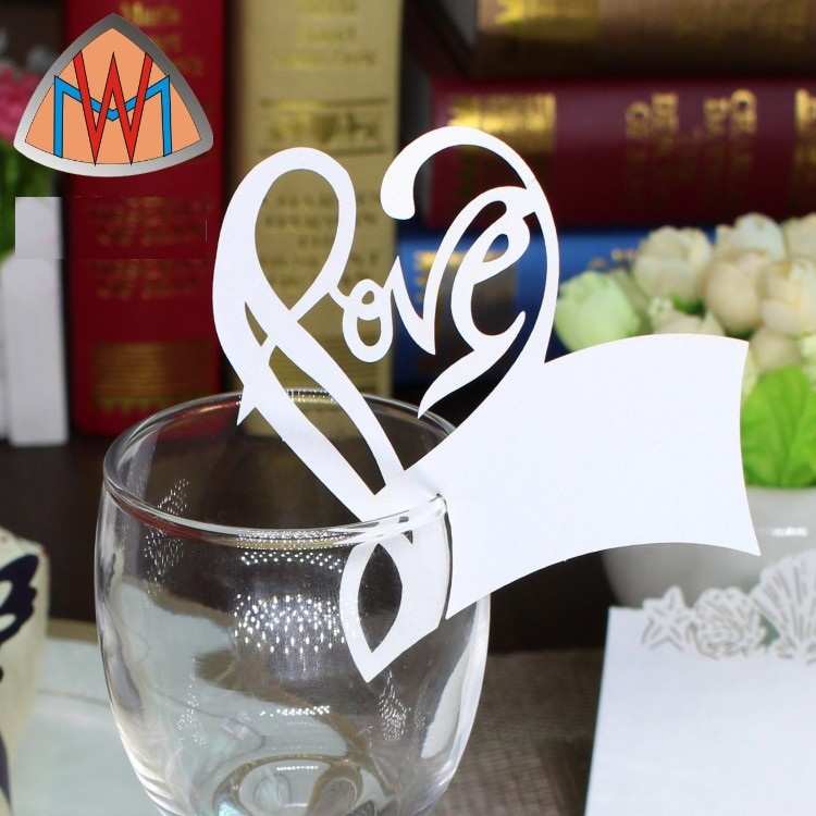Whole Only Beautiful Love Peach Wine Gl Markers Table Name Number Place Cards Wedding Birthday Party Decorations A2 On Aliexpress Alibaba Group