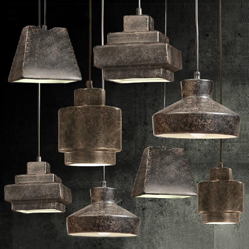 L mpara colgante de iluminaci n industrial vintage estilo - Iluminacion estilo industrial ...