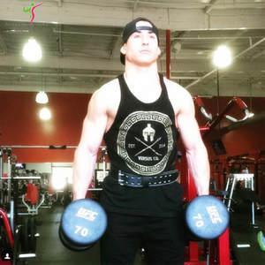 8e6fd1b6cb3ae Muscular giants 2018 Fitness Cotton Vest Men  Tank Tops