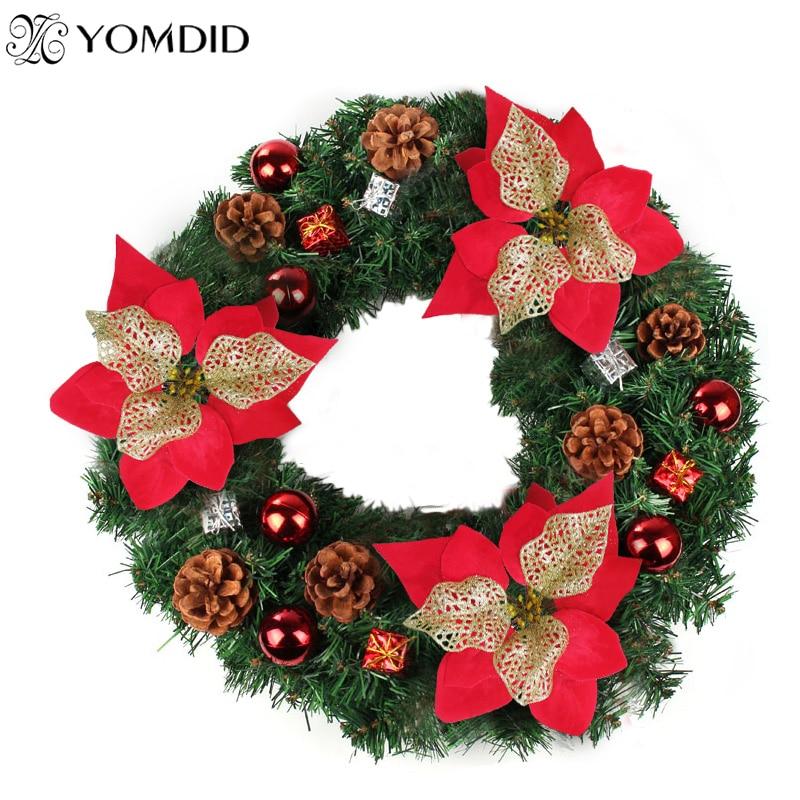 Christmas Artificial Flowers Home Decorative Flower