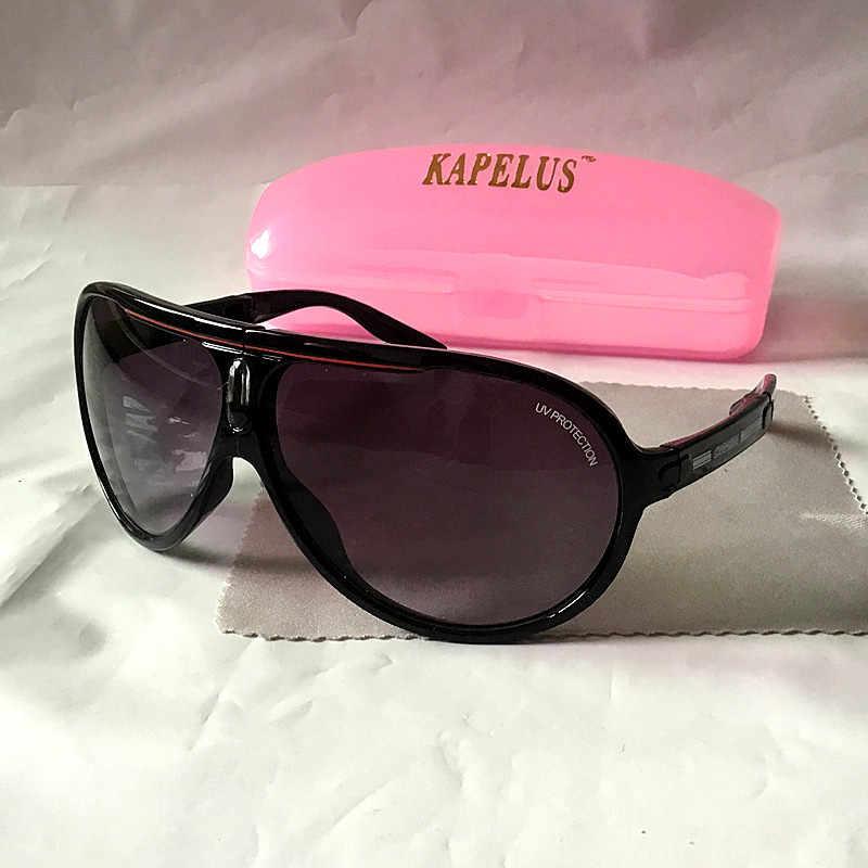 KAPELUS New black occhiali da sole pieghevoli occhiali da sole difensiva occhiali da sole