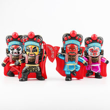 Chinese cultural and artistic dolls Ethnic Dolls traditional opera Mask-changing dolls figure Sichuan Opera performance dolls(China)
